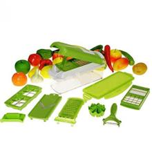 NICER DICER Plus 12-Piece Multi-Chopper Slicer & Dicer TV PRODUCT