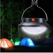 Solar Bulb Nightlight Camping Hiking 60 LED Outdoor Hanging Rotatable