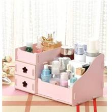 DIY Wooden Cosmetic / Stationery Double Drawer Storage Box