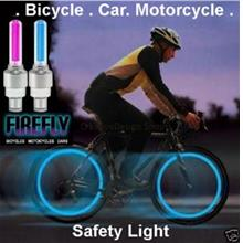Car Bike Bicycle Tire Safety LED Safety Light Motion Sensor 1 pair