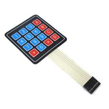 4 x 4 , 16 Button Matrix Arduino Water Proof Touch Membrane Keypad