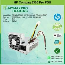 HP Compaq 6300 Pro SFF 240W Power Supply PSU 503375-001 611481-001