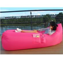 Lamzac outdoor inflatable sofa lazybeach sleeping laybag bag