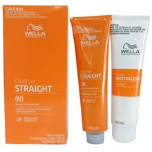 Wella Straight Hair Straightening Cream (100ml + 100ml)