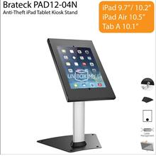Brateck PAD12-04N Anti-Theft iPad Tablet Kiosk Desk Table Stand