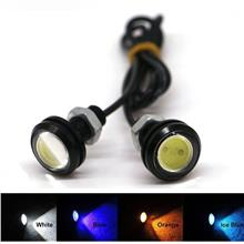2Pcs 10W LED Eagle Eye 12V Car Auto DRL Daytime Running Tail Backup Light Lamp