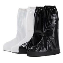 Safety Rain Shoe Cover- Waterproof, Reusable, for Motorcycle, Cycling