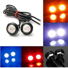 10W LED Eagle Eye 12V Car Auto DRL Daytime Running Tail Backup Light Lamp 2pcs