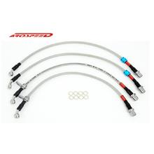 AROSPEED Steel Braided Brake Hose Subaru STI Version 7 & 8 4 disc