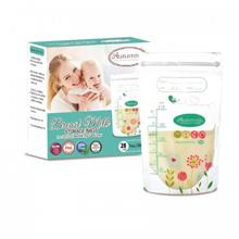Autumnz - Double ZipLock Breastmilk Storage Bag (28 Bags) *7oz*