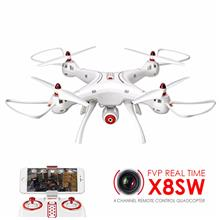 SYMA X8SW FVP Real-Time 4 Channel W/ 720P WIFI camera Remote Control Quadcopte