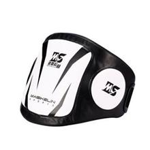 Muay Thai Belly Pad Protect Karate Silat Body Protector Vest Sparring