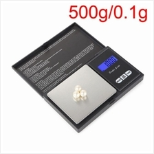 500g x 0.1g Precision Digital Scales for Gold Jewelry 0.1 Weight Electronic Sc