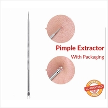 Stainless Steel Pimple Extractor Blackhead Remover Needle Acne Comedone