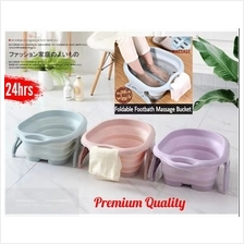 Foldable Foot Spa Soak Massage Bucket Home Travel Large Space Basin Healthy Re