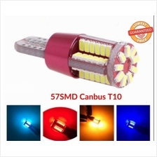 Canbus T10 Car LED 57SMD W5W Lamp The Width Light Small Bulbs DRL
