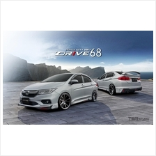Honda City 2017 Facelift Drive 68 Body Kit , Skirting With Paint