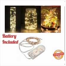 6.5FT / 2M LED Copper Wire String Lights 20 Waterproof Battery Operated LED Li