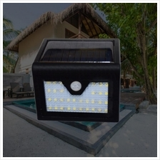 32 LED Automatic Solar Light Motion Sensor Outdoor Fence Garden Light Pathway