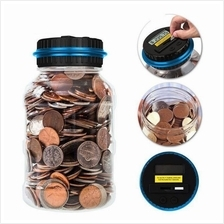 LED Digital Coin Saving Money Automatic Electronic Counting Piggy Bank