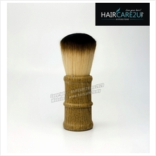 E13 Megaga Barber & Salon Soft Neck Face Duster Wooden Wool Hair Brush
