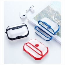 Airpods Pro / Airpod Pro Soft TPU PC Protective Air Bag Shockproof Full Cover