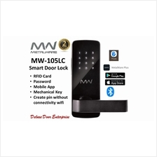 Metalware Smart Digital Door Lock MW-105LC(MC105LC/MW105)(with app))