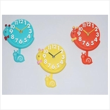 SNAIL WALL CLOCK creative minimalist living room modern garden insects