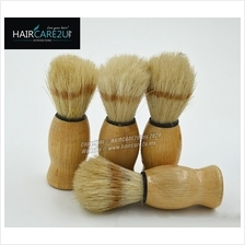 Barbershop Wooden Mustache Soft Neck Face Duster Nylon Badger Brush