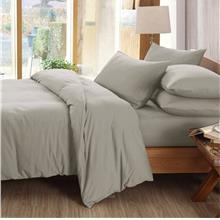 Essina Candies Light Grey 100% Cotton 620TC Comforter Set)