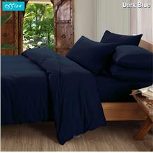 Essina Candies Dark Blue 100% Cotton 620TC Comforter Set)