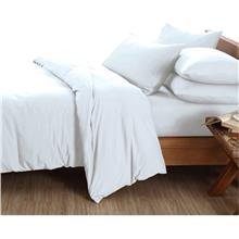 Essina Candies White 100% Cotton 620TC Comforter Set)