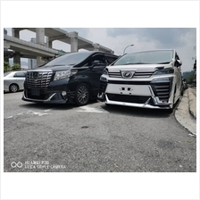 Toyota Alphard 2015 G / SC Spec Modellista Bodykit Skirting With Paint