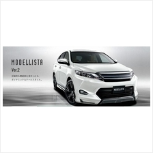 Toyota Harrier V2 Modellista Skirting Bodykit With Paint