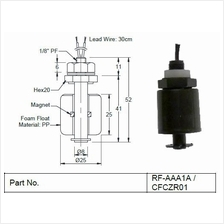 Mini Float Switch (RF/FCH/FCV/CFCZR)
