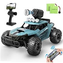 DEERC RC Cars DE36W Remote Control Car with 720P HD FPV Camera, 1/16 Scale Off