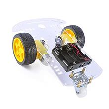 MTMTOOL Smart Robot Car Chassis Kit with Speed Encoder Battery Box-US