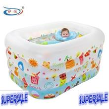 Inflatable Children Baby Infant Swimming Pool Tub (M) + Free Gift