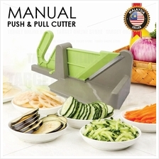 Manually Push and Pull Cutter Slicer Vegetables Ham Kitchen Tool
