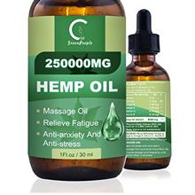 GPGP GreenPeople Natural Hemp Extract Oil - 250,000MG - Pure Organic Oil Suita