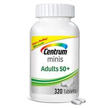 Centrum Minis Adult 50+ (320 Count) Multivitamin/multimineral Supplement Table