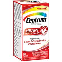Centrum Specialist Heart Multivitamin/Multimineral Supplement with Super B Com