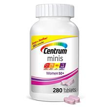 Centrum Minis Women 50+ (280 Count) Multivitamin/multimineral Supplement Table