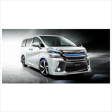 Toyota Vellfire 2015 ZG Aero / X Normal Modellista Body Kit With Paint