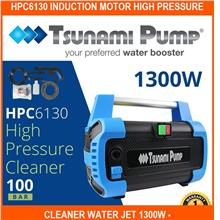 HPc6130 Induction Motor High Pressure Cleaner Water Jet 1300w - Tsunam