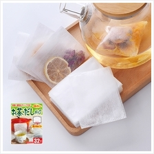 KYOWA Japanese Soup and Tea Filter Disposable Bag with Zipper 12x9.5cm
