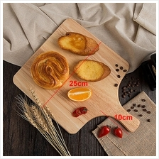 Solid Wood Square Pizza Peel Paddle Bread Cupcakes Serving Tray 25cm
