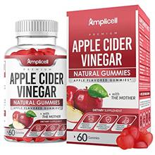 Apple Cider Vinegar Gummies - 60 Apple Cider Gummies for Immunity  & Detox - A