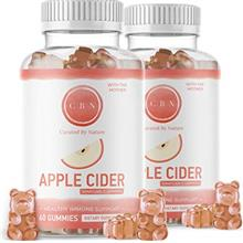 (2-Pack) Nutritional Apple Cider Vinegar Gummies, Immunity Boosting Formula wi