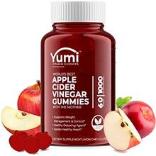 Apple Cider Vinegar Gummies with Raw Organic Acv from The Mother, Paired with